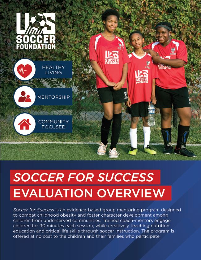 Soccer for Success Evaluation Overview Image